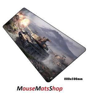 WOT-Extra-Large-Gaming-Mouse-Tappetino-antiscivolo-per-laptop-PC-tastiera-scrivania-80x30cm