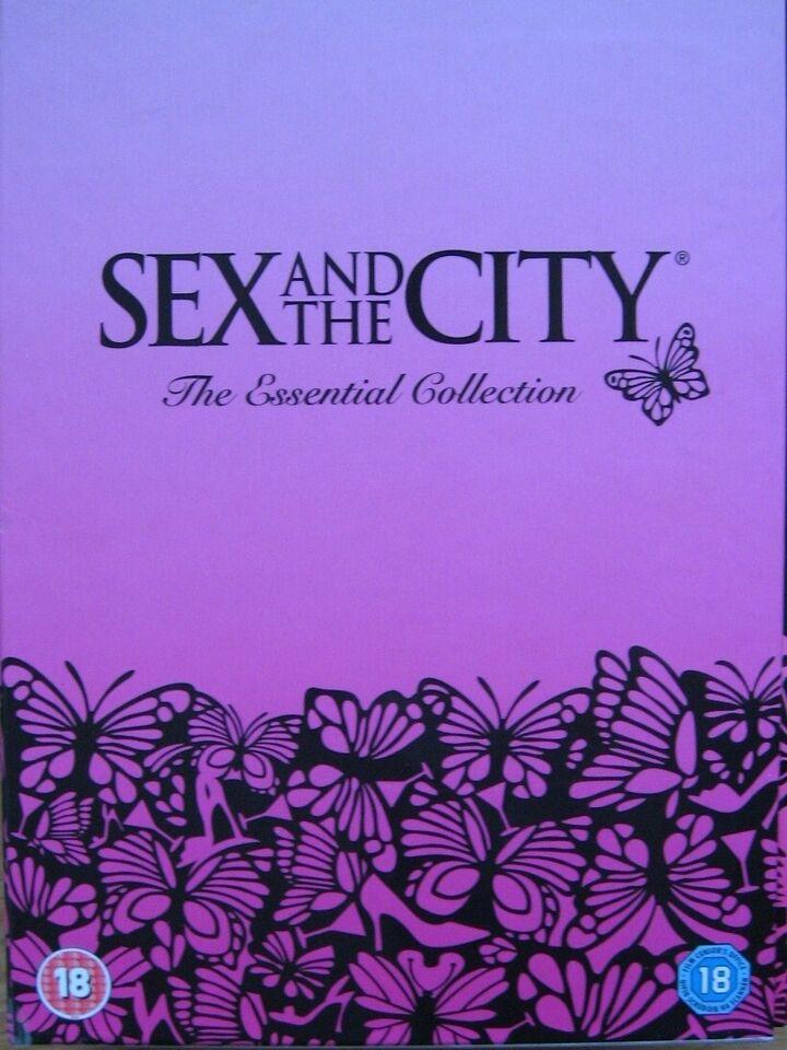 Sex and the City, instruktør komplet + bonus, DVD
