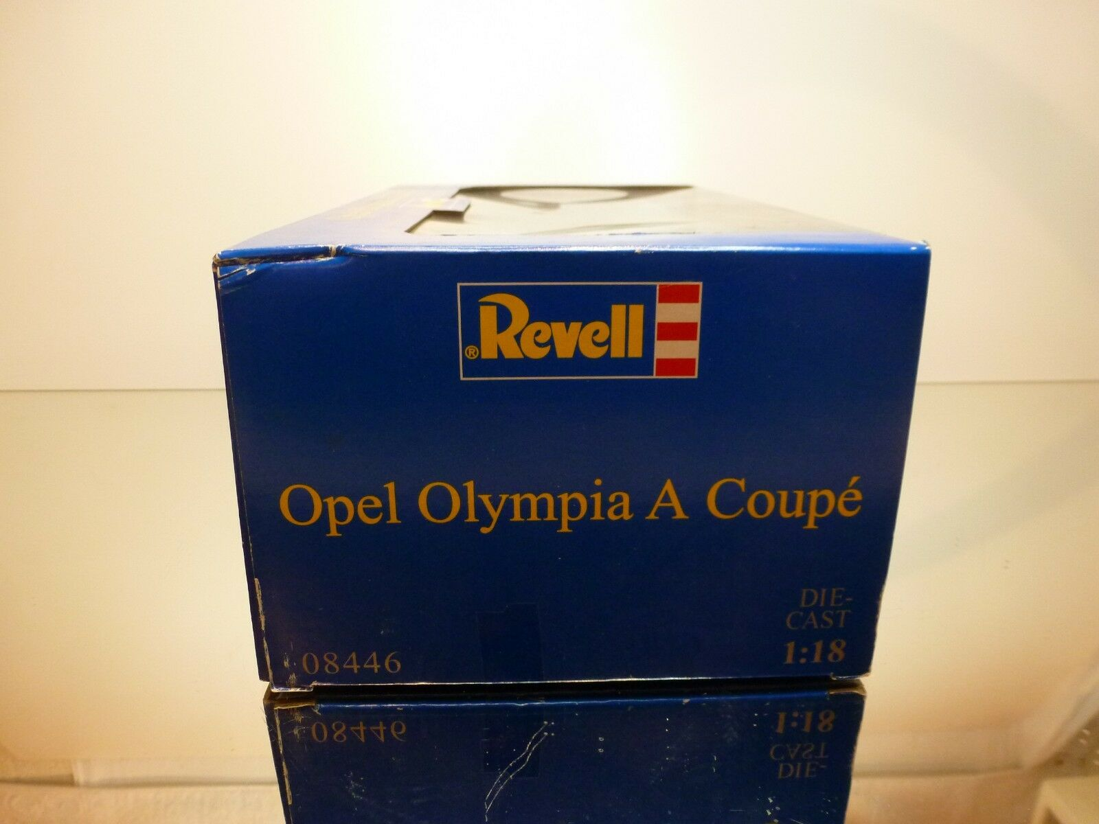 REVELL 08446 OPEL OLYMPIA LS LS LS COUPE - CREAM 1 18 - EXCELLENT IN BOX 51200e