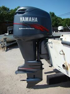 2001 yamaha 150 hp hpdi 2 stroke 25 outboard motor ebay for Yamaha 150 2 stroke fuel consumption