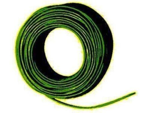 Filo quadro 0,5mm rame rosso e nero 2 anelli a 10 metri 1m = € 0,145 NUOVO