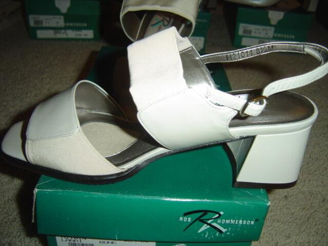 Ros Hommerson Lanai Bone White Women's shoes Sandals Heels Size Size Size 9.5 S Slim NEW 99f8c7