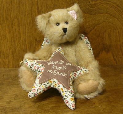 "Boyds Plush #4013326 ANGELICA GOODFRIEND ""Friends Are Angels On Earth"", 8"""