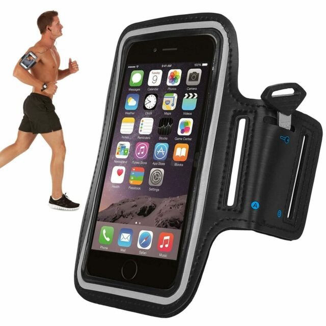 brand new 7ebc2 845a7 Tqka Armband Case Sports GYM Running Exercise Arm Band Holder For iPhone 7  KA11