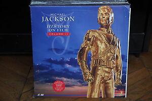 MICHAEL-JACKSON-History-On-Film-Volume-II-PAL-LASERDISC-CLV-REF-50138-5