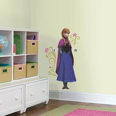 New Disney Frozen ANNA Giant Wall Decals Movie Stickers Kids Bedroom Decor