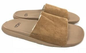 54e7ca486 Image is loading Ugg-Australia-Xavier-Twinface-TF-Shearling-Slides-Sandals-