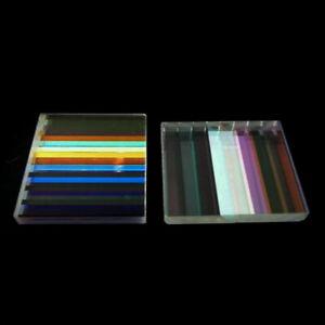 Diapositive PRISMA OTTICO VETRO CROCE combinato farbprisma per l'insegnamento DIY