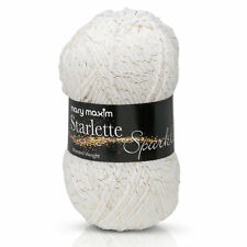 Mary Maxim Starlette Sparkle - White Yarn