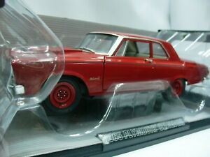 Details about WOW EXTREMELY RARE Plymouth Belvedere II R01 Hemi 426 1965 R  Red 1:18 Highway 61