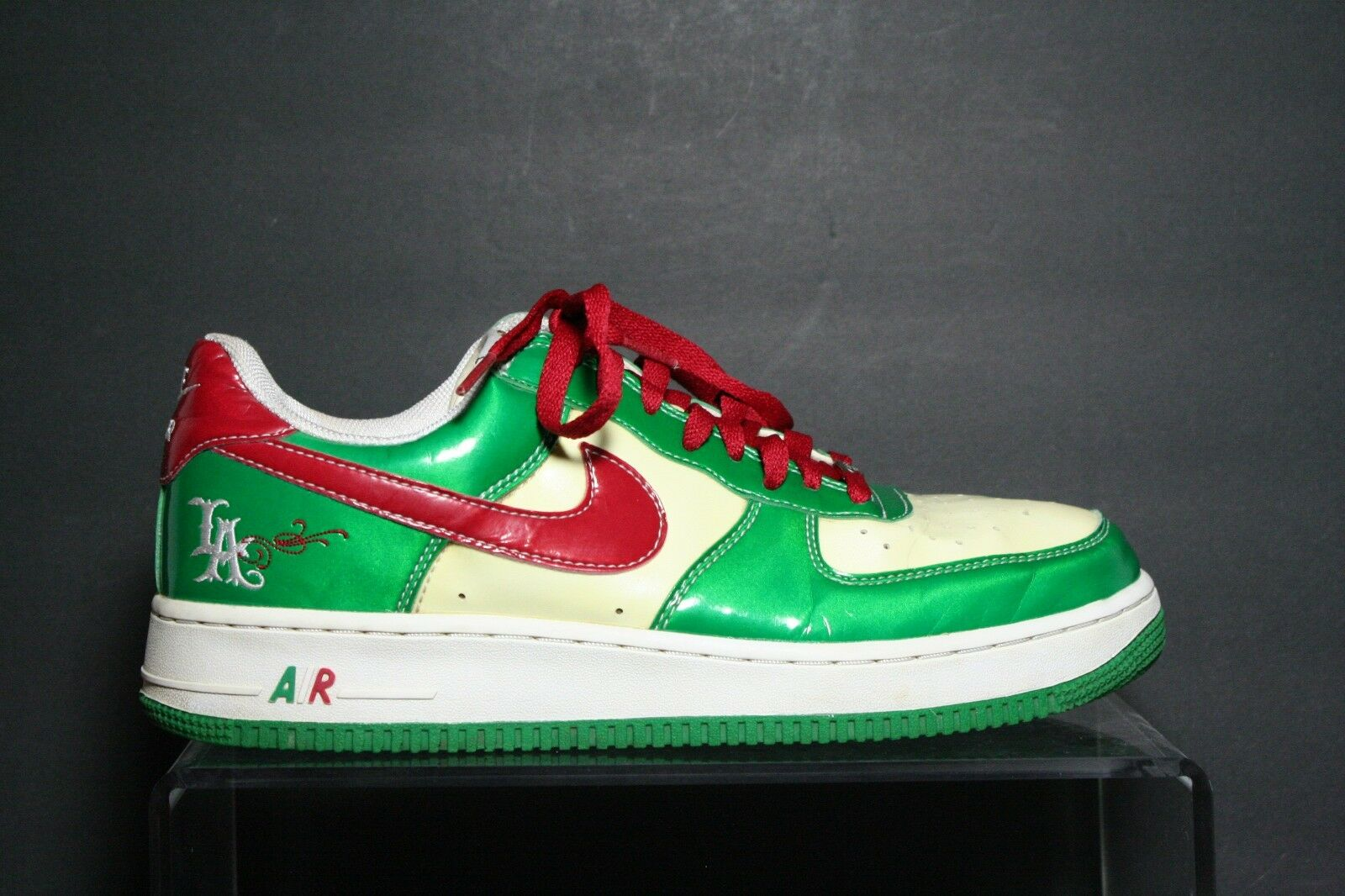 Nike AIr Force 1 VTG OG 2005 Mr. Cartoon Cinco De Mayo Mexico Men 12 Los Angeles