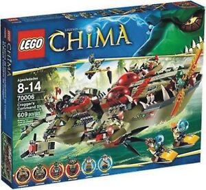 Lego Chima 70006 - Le bateau à crocodiles Cragger Visitez mon magasin