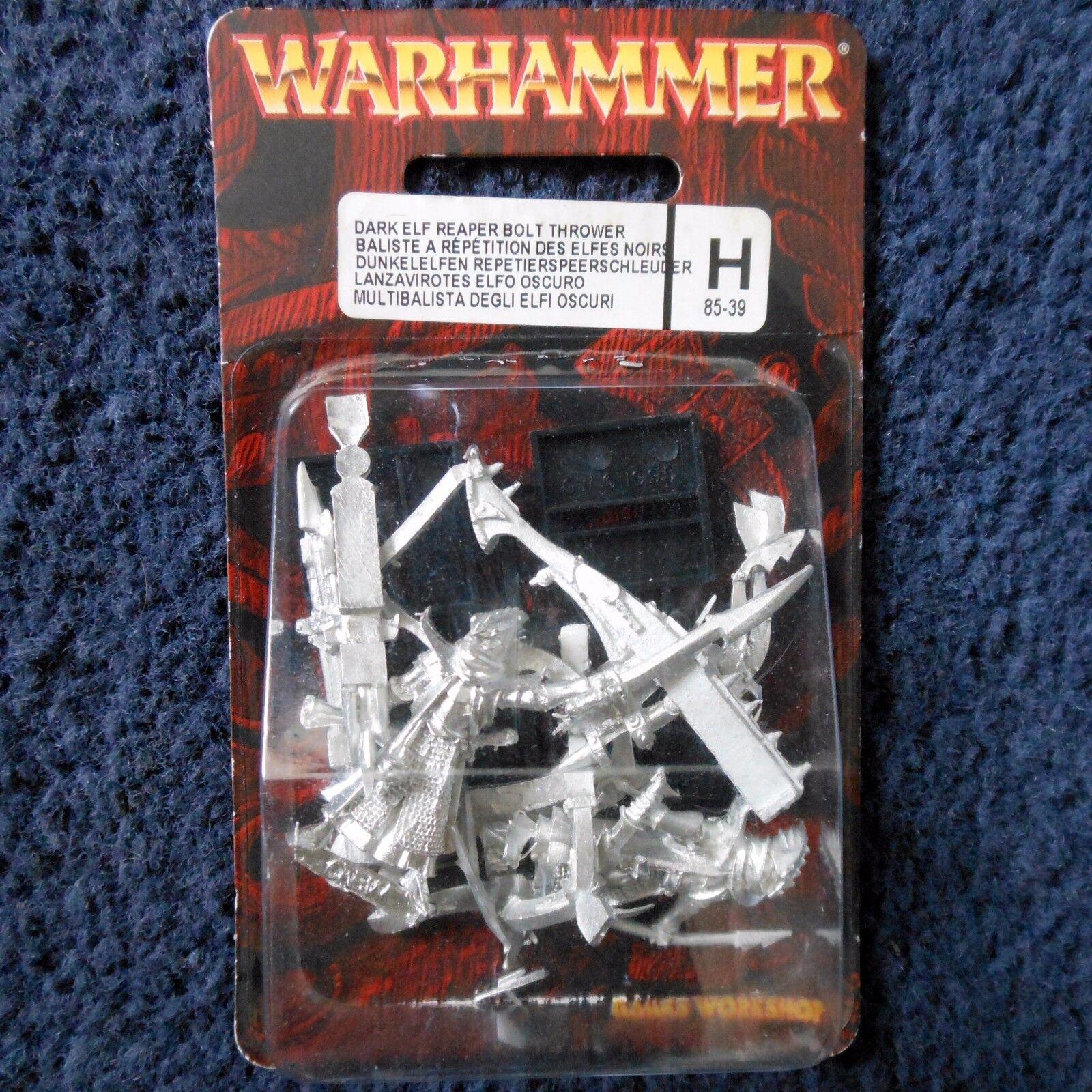 2002 Dark Elf Reaper Bolt Thrower Citadel Repeating Repeater Xbow Warhammer MIB