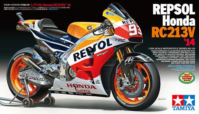 Tamiya 1  12 Repsol Honda RC213V'14 modellllerlerl Motorcycle Kit Honda RC213V'14