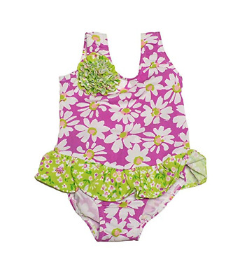 Flap Happy Baby Girls UPF 50 Sailor Swimsuit
