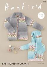 12a5ddd38 Cardigans for Hayfield Baby Chunky Yarn Knitting Pattern 4534