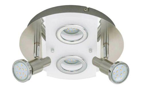 LED Deckenleuchte Peters-Living 6473925 Wohnraumlampe Mit Diffusor 4x 3 Watt