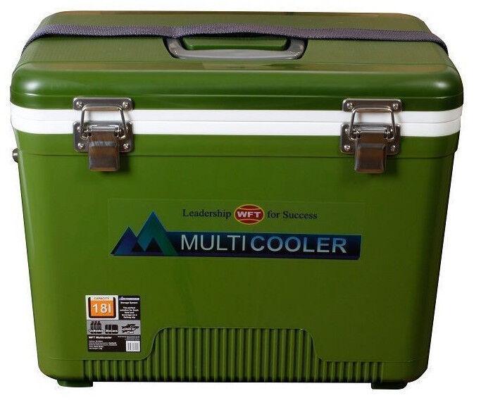 WFT Multicooler 12L Grün Kühlbox Kühlboxen Kühltruhe Kühlen