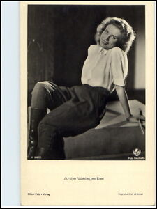 DDR-Postkarte-Kino-Buehne-Film-Foto-Verlag-Schauspielerin-Antje-Weisgerber