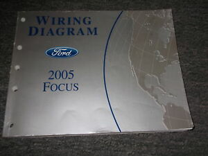 2005 FORD FOCUS Electrical Wiring Diagrams EWD Repair ...