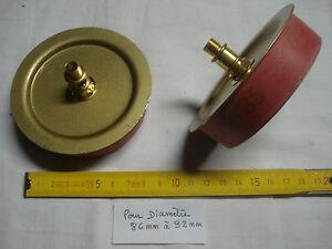 1 adaptateur 85 mm extensible pour vase, potiche, en caoutchouc et laiton