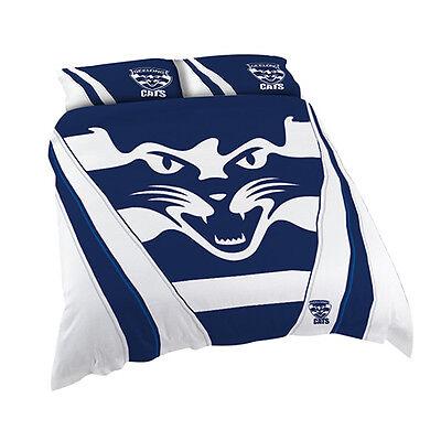 Fremantle Dockers Freo AFL QUEEN Bed Quilt Doona Duvet Cover Set *NEW 2019* GIFT