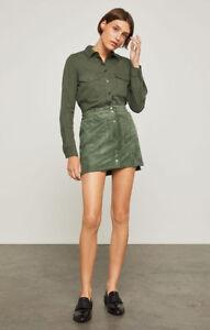 d377b8a5c BCBGMAXAZRIA Mora Faux-Suede Miniskirt Skirt XS 613000431769 | eBay