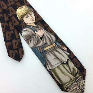 Anakin Skywalker Child Tie Brown Tan Clip On For 4 to 6 year Boys I17-461 New