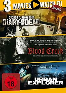 Diary-of-the-Dead-Blood-Creek-URBAN-Explorer-3-DVD-NUOVO