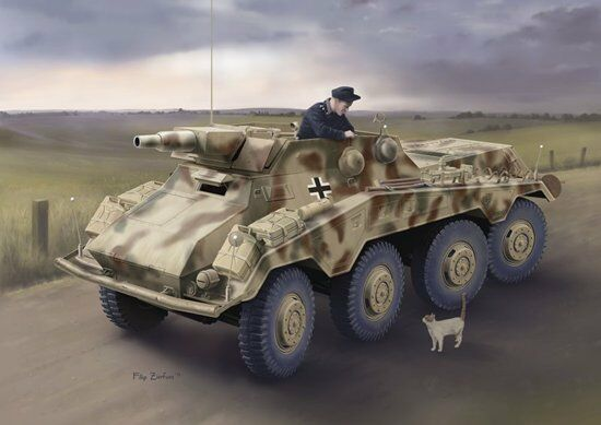 Dragon 1 35 Sd.Kfz.234 3 schwere Panzerpahwagen (7.5cm) Model Kit