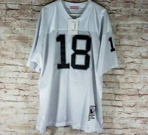 quality design dd476 167c2 Details about 2005 Mitchell & Ness Throwbacks Randy Moss Oakland Raiders  Jersey #18 Size 52