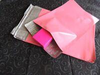 100 Pink 7.5x 10.5 Flat Poly Mailers Shipping Postal Envelope Bags W/self Seal