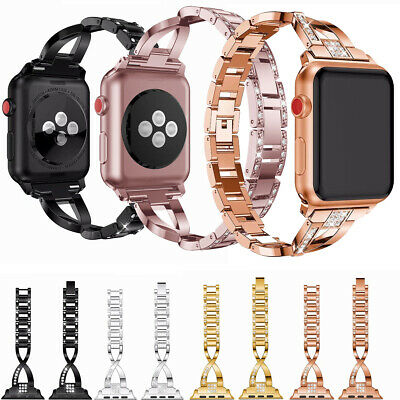 Stainless Steel Band For Apple Watch 38 40 42 44mm Series 5 4 3 2 1 Wristband Ebay