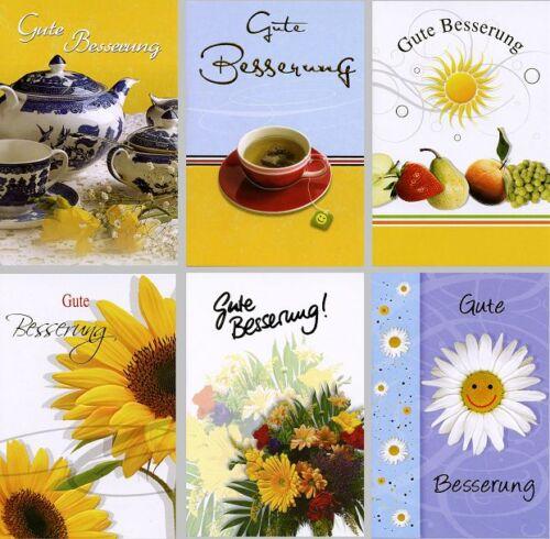 100 Glückwunschkarten Grußkarten Gute Besserung Genesung 4211517 TA