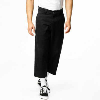 Pants $178 Levi's Made & Crafted Highline Cropped Trousers Cotton Black Pants 38 34 33 Sales Of Quality Assurance