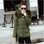 Hot-Winter-Women-039-s-Down-Cotton-Parka-Short-Fur-Collar-Hooded-Coat-Quilted-Jacket thumbnail 12
