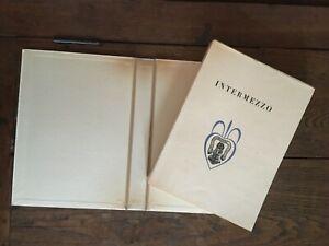 Jeans Giraudoux Intermezzo Ill.Daragnes Exp. N° 16 La Città Delle Libri 1933