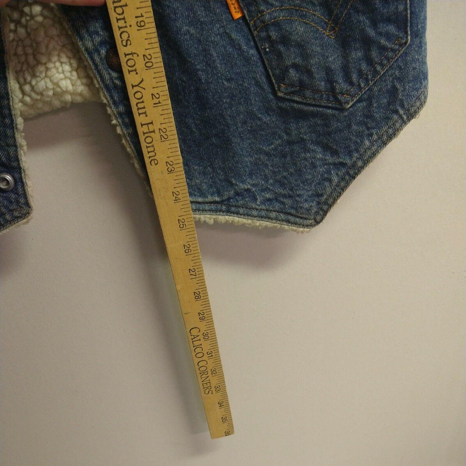 Levis vintage clothing Vest made in USA - image 7
