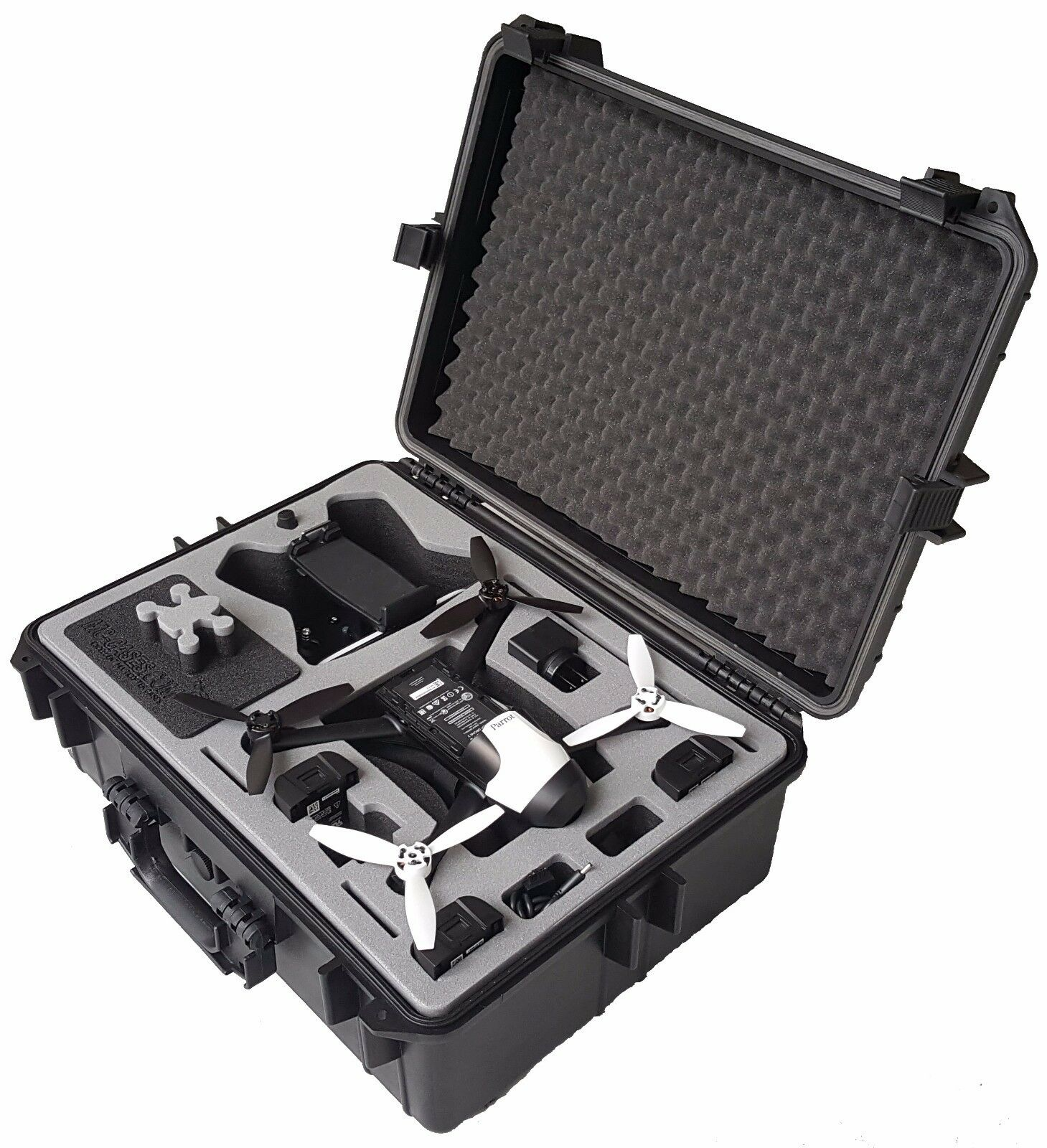 Case Specially for Parred Bebop 2 FPV - Sky Controller 2 and Video Glasses