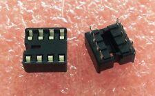 25 Pcs Quality AMP 8-Pin IC DIP Socket Preformed Pins
