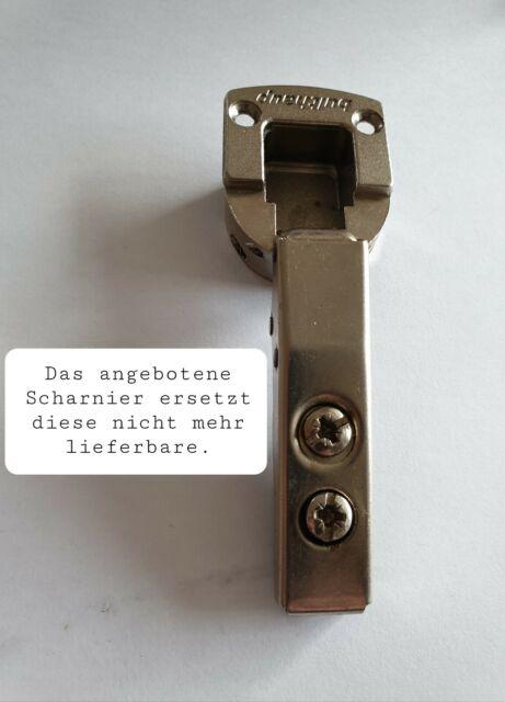 4x Topfband Innenanschlag HYDRAULISCH Dämpfer Scharnier Topfscharniere GTV TOP