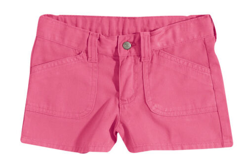 Hering Children Kid Girls Basic Twill Summer Cotton Shorts C61T
