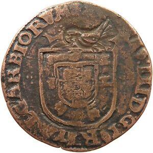 PORTUGAL-X-REAIS-ANTONIO-I-1580-1583-Carimbo-de-Acor-t80-353