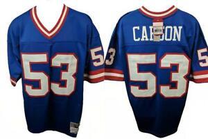 681ec2837 New 1986 Harry Carson #53 NY Giants Mens Sizes L-2XL Mitchell & Ness ...