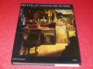 RUSSIE-ARTS-C-BURRUS-LES-COLLECTIONNEURS-RUSSES-BEAU-LIVRE-1992