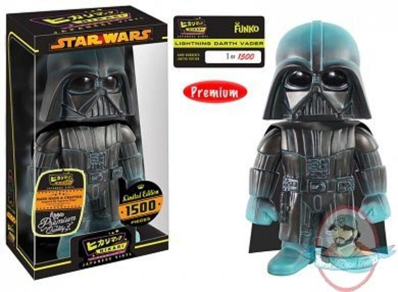 Star Wars Lightning Darth Vader Hikari Premium Sofubi Figure Figure Figure Funko 2154dd