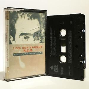 R.E.M. - Lifes Rich Pageant - NM, M- 1986 Cassette - I.R.S. Records - MIRLC 1507