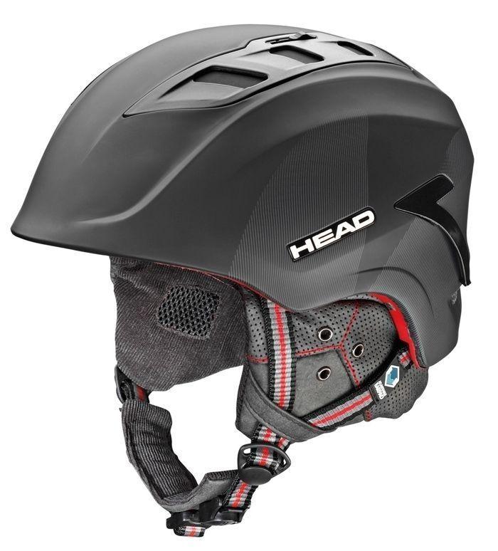 HEAD SENSORE Casco Casco Casco da sci snowboard Casco (Nero-rosso) NUOVO 2d0b7f
