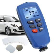 1250um 492mils Paint Coating Thickness Meter Automobile F Nf Probe Sensor