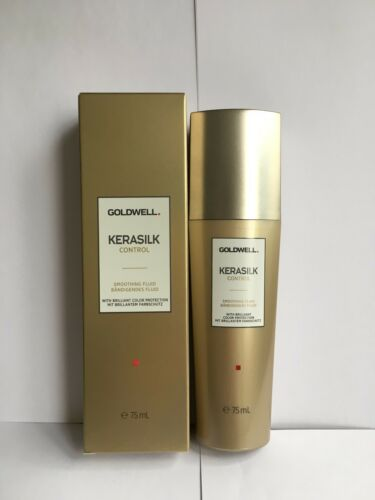 GOLDWELL KERASILK CONTROL SMOOTHING FLUID WITH BRILLIANT COLOR PROTECTION 75ML